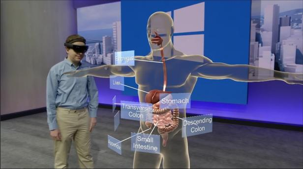 Microsoft HoloLens at //Build 2016/