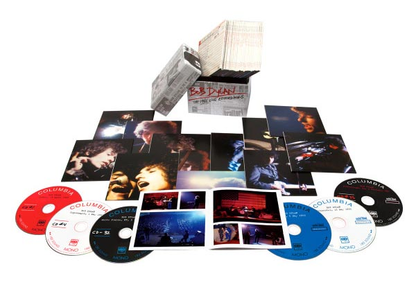 Bob Dylan The 1966 Live Recordings Box set
