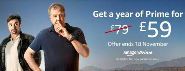 Amazon Prime UK Black Friday 2016