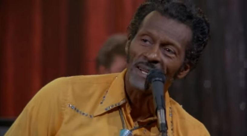 Chuck Berry the original rock and roll genius dead at 90 (photo from Hail! Hail! Rock N' Roll by Taylor Hackford)