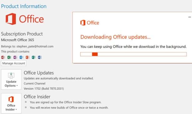 Windows Creators Update brings Office 365 2017 update (photo NJN Network)