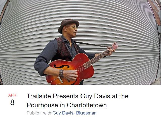 Guy Davis bluesman blocks comments on Facebook
