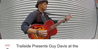 Guy Davis bluesman blocks comments on Facebook