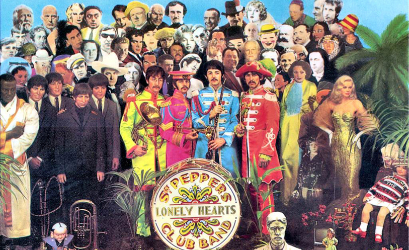 Sgt. Pepper's Lonely Hearts Club Band cover (Capital Records)