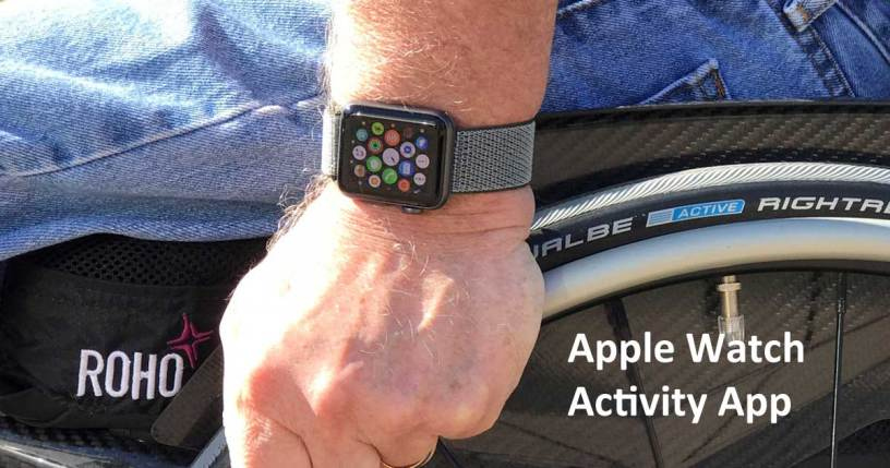 Apple Watch Activity App for people who use wheelchairs