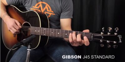 Gibson J-45 (photo YouTube Acoustic Letter)