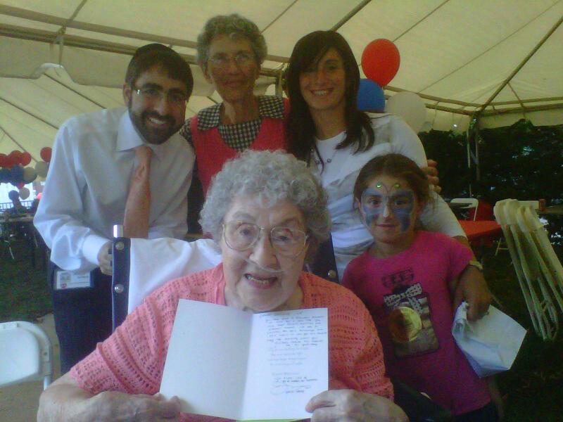 Mrs. Gertrude Felden 100th Birthday!