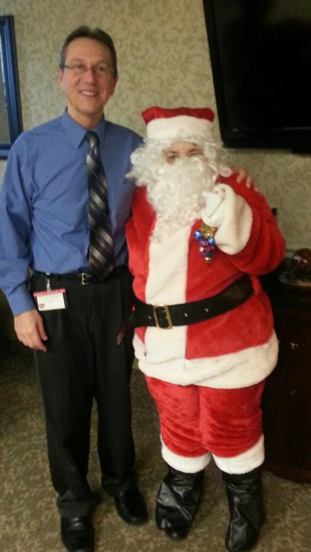 Santa with Joe O.