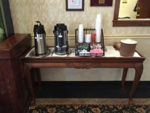 Coffee Station At Regency Park