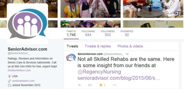 senior advisor twitter