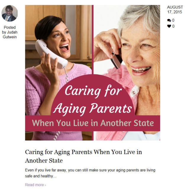 elderly parents