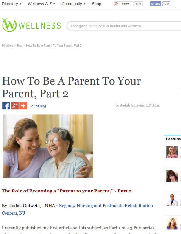 wellness.com-parent to parent