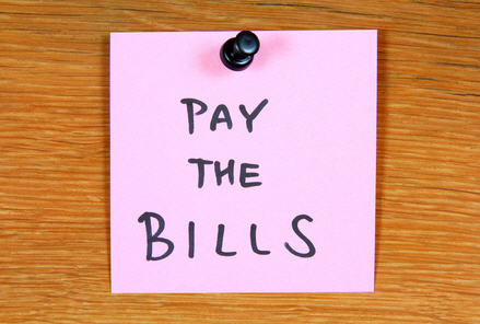 pay the bills