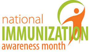 national immunization awareness month logo