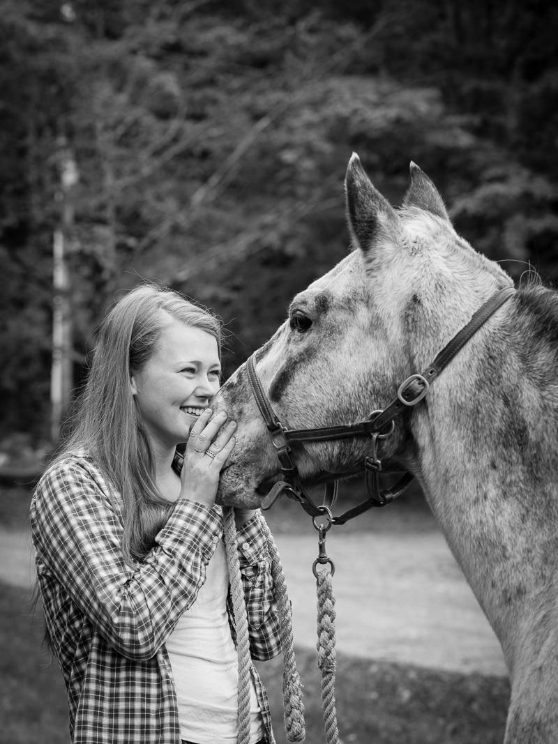 Tasha's Equine Portrait Session with her Horse Surprise