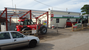 Bigwoods Agri exstension to their existing building