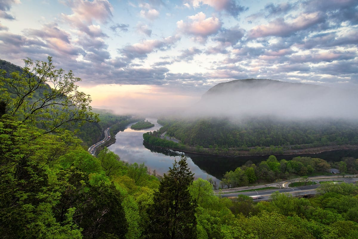 Photo Guide: The Best Spots At The Delaware Water Gap
