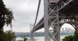 Capturing the George Washington Bridge from Fort Lee Historic Park