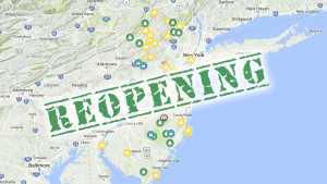 New Jersey State Parks Reopening on 5/2
