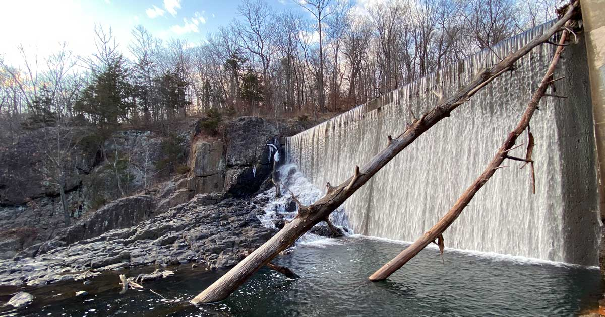 Visiting Bridgewater NJ's Waterfall