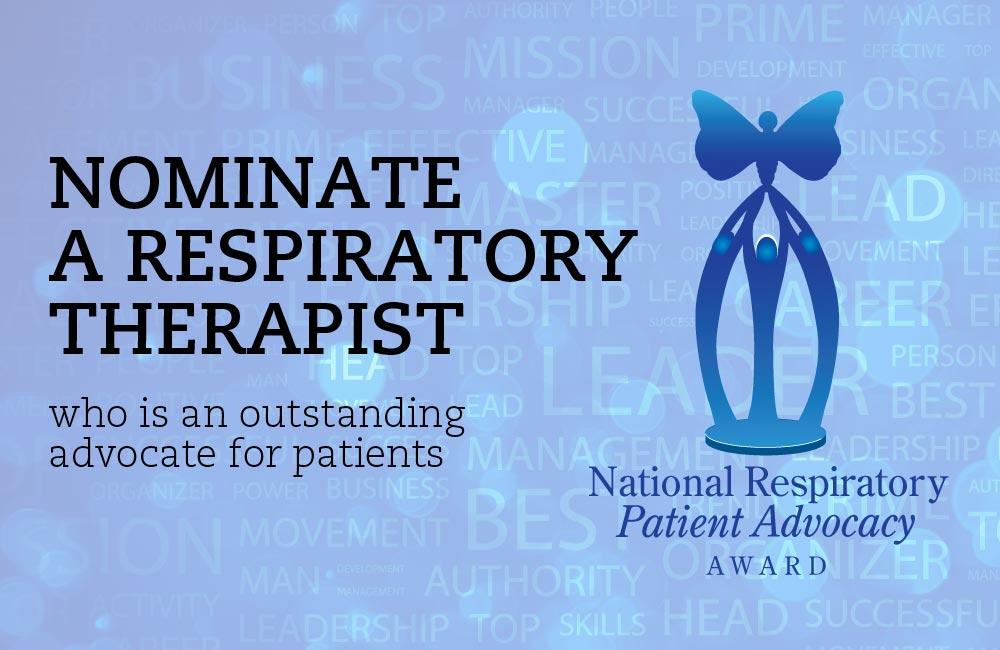 National Respiratory Patient Award