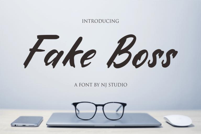 Fake Boss