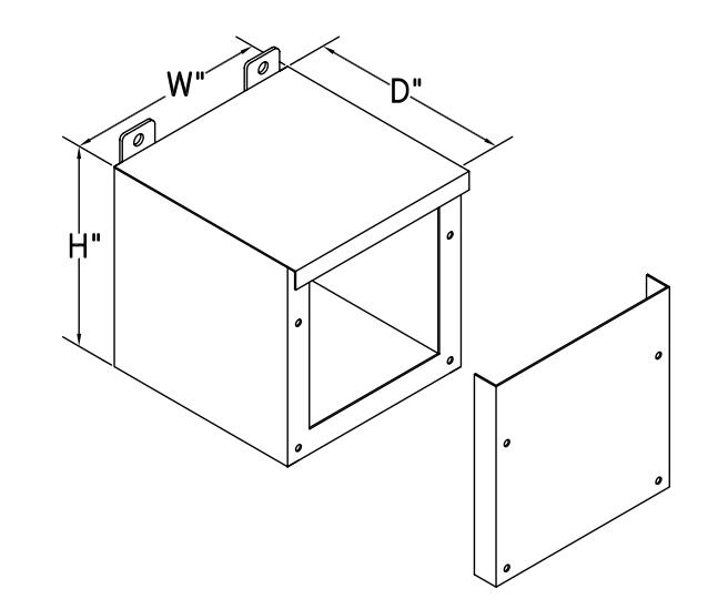 Type 3R – Screw Cover
