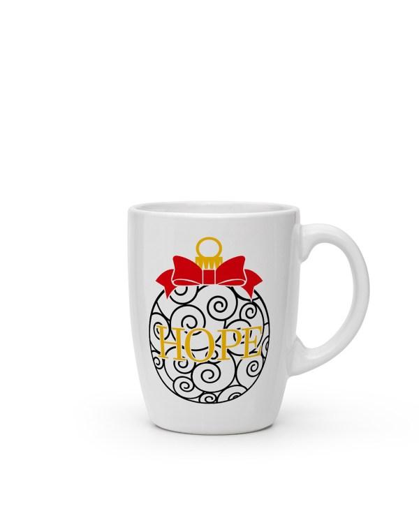 personalized-christmas-cone-mugs
