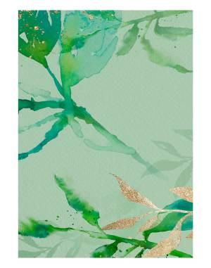 Green-Leaf-welcome-board