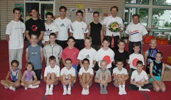 Abschied 2005 mit Peter Schmid, Alt-Regierungsrat BL, BKSD