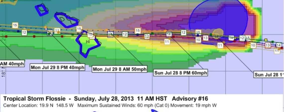 Tropical Storm Flossie 16