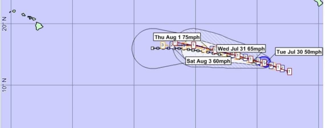 Tropical Storm Gil 4