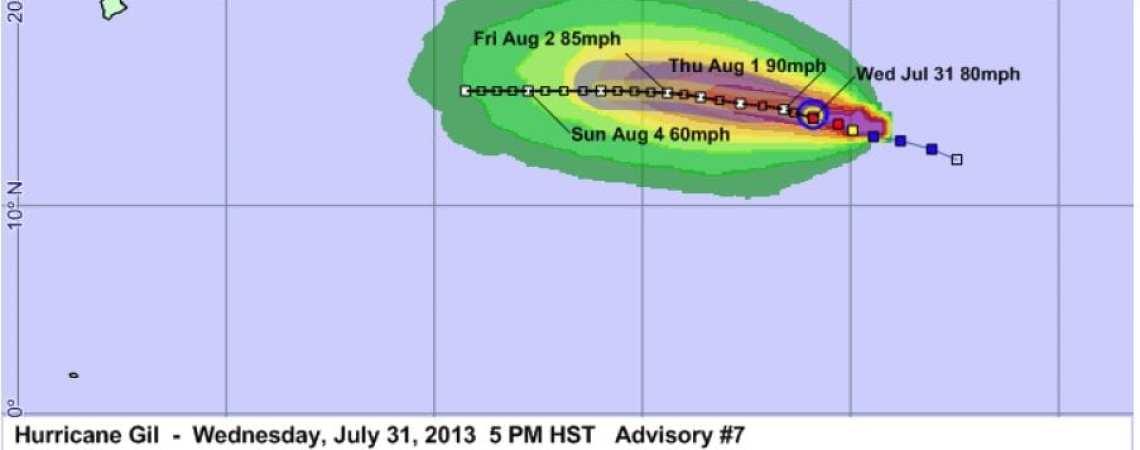 Hurricane Gil Advisory 7