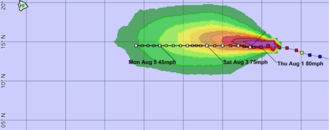 Hurricane Gil Advisory 10