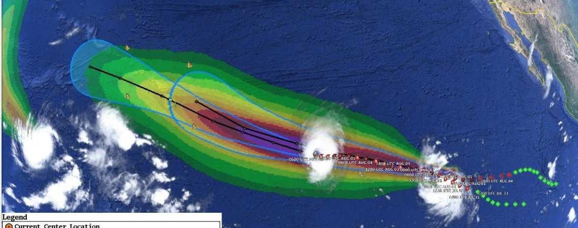 Hurricane Iselle #21 leading TS Julio