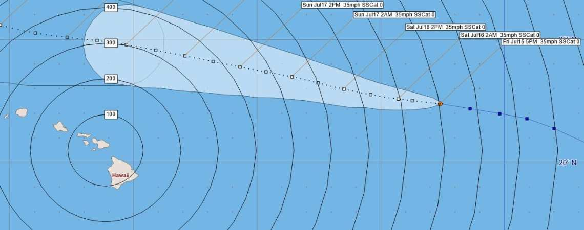 Tropical Depression Celia Advisory 37