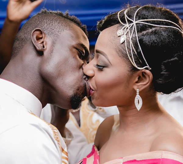 Afriyie Acquah and his wife Amanda