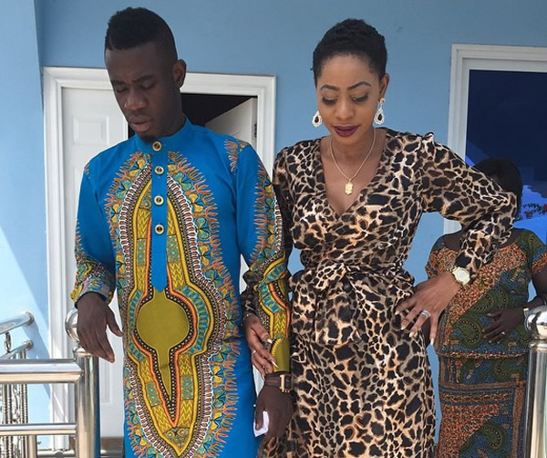 Amanda and Afriyie Acquah