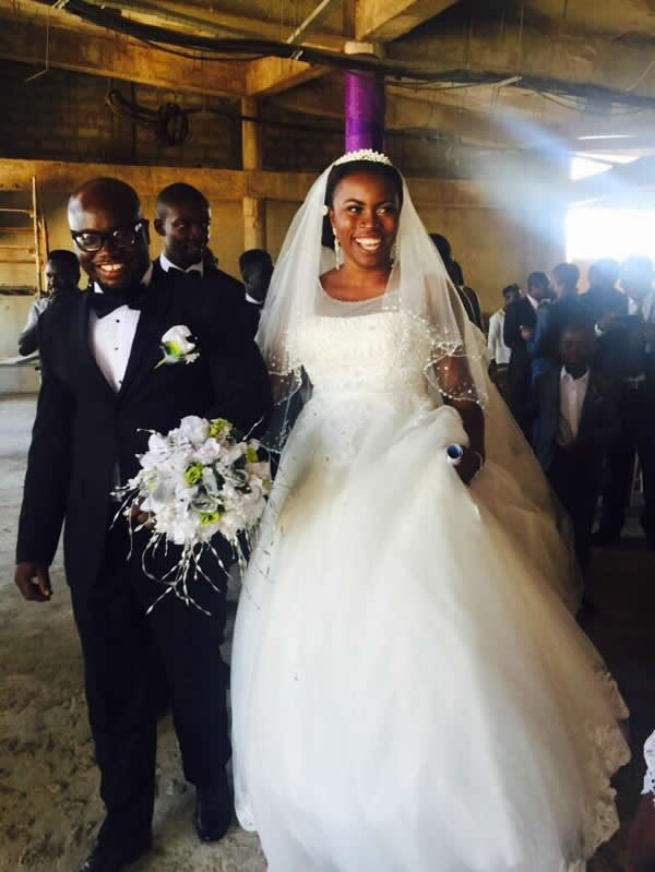 Odelia Ofori marries