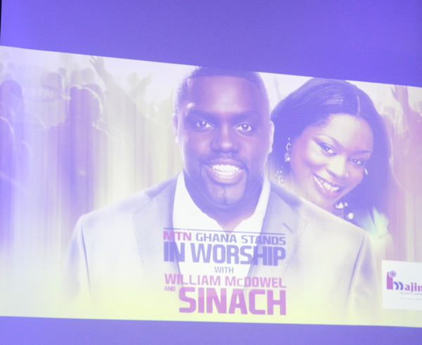 William McDowell and SINACH -1