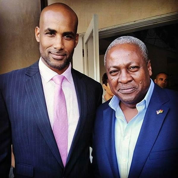 Boris Kodjoe and Prez Mahama