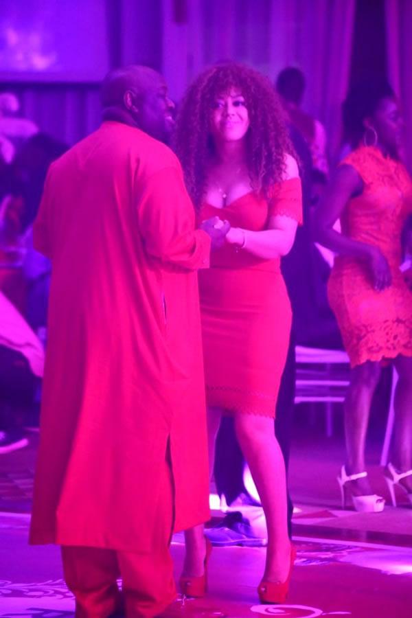 Chief Dele and Nadia buari dancing 2