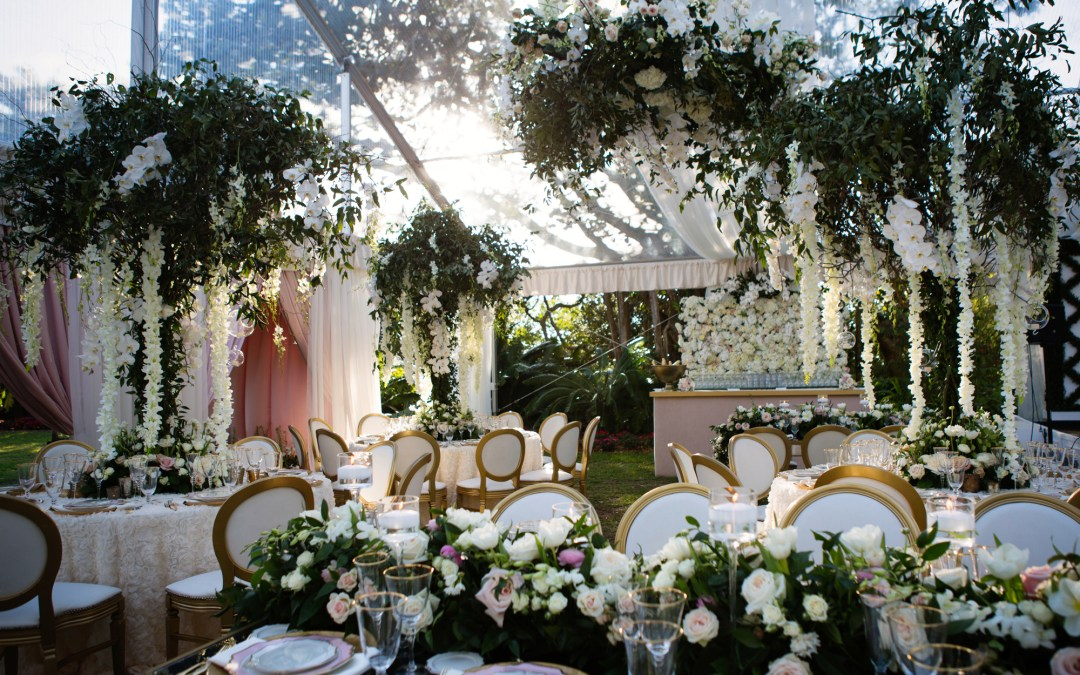 NK Productions Wedding Spotlight: Flower Power at Sarasota's Marie Selby Botanical Gardens