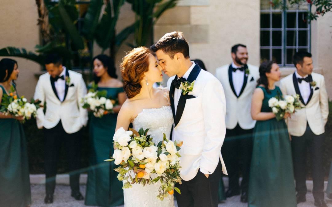 NK Productions Wedding Spotlight: Spanish Glam at Sarasota's Powel Crosley Estate