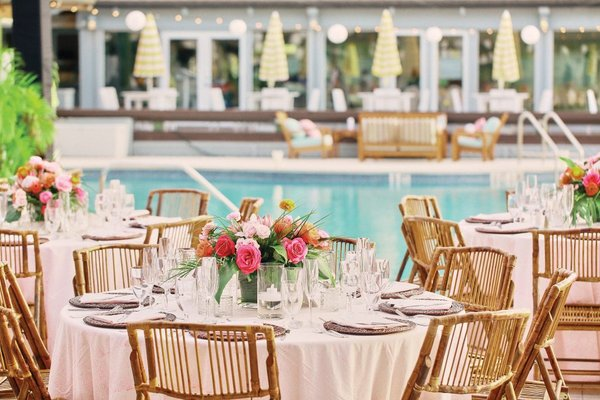NK Productions-Poolside wedding-Gasparilla Inn & Club