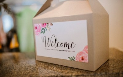 Wedding Trends- Welcome Bags
