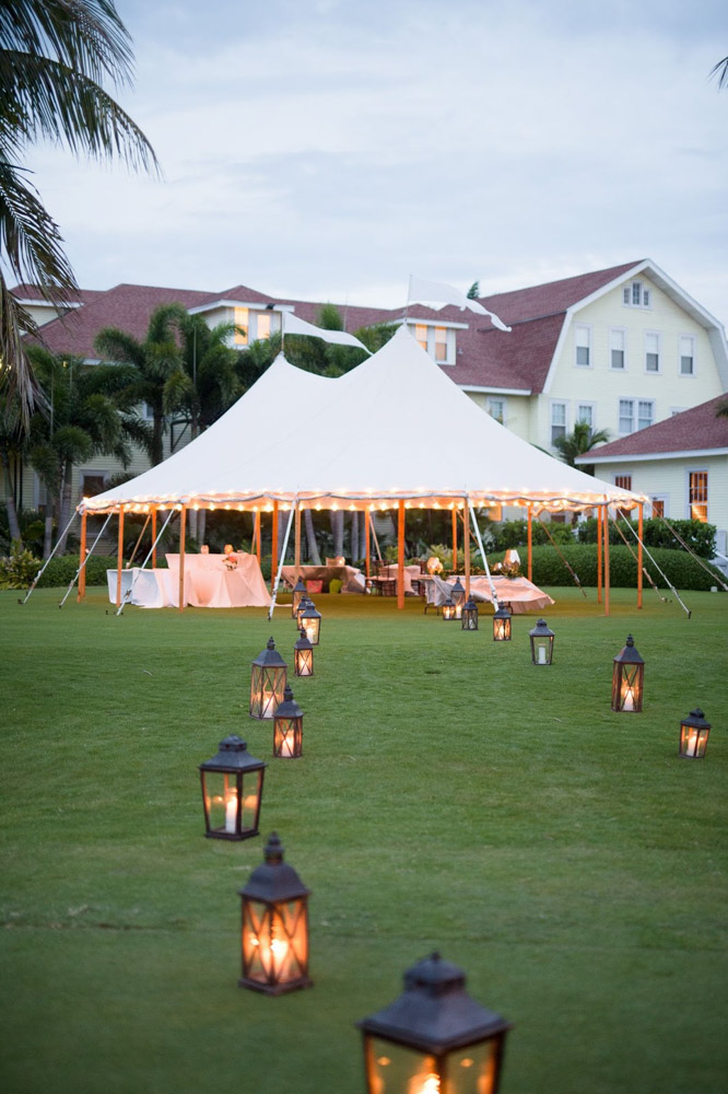Open Tent Reception in Boca Raton