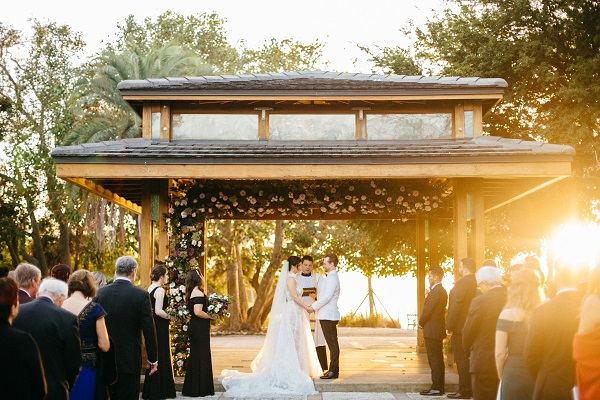 Selby Gardens wedding ceremony with NK Productions