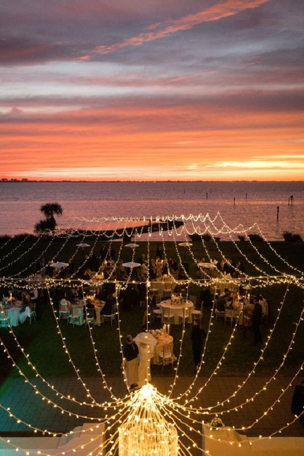 Powel Crosley Estate Weddings-NK Productions- sunset-