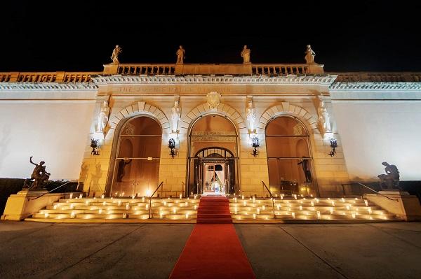 Outdoor wedding lighting- NK Productions